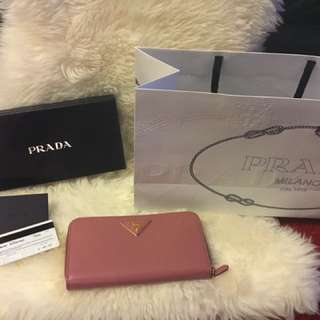New Prada large wallet Rrp $980