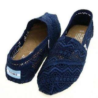 Toms Lace Slip On Shoes 8.5
