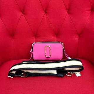 Marc Jacobs 18SS 新色相机包 玫粉色