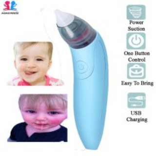 MOMO House Kid Baby USB Electric Nasal Aspirator/Nose Cleaner - Hygiene & Safe