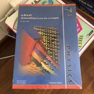 A LEVEL PHYSICS BOOKS (PART I)