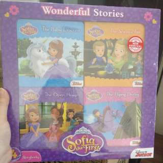 Sofia the first 4in1 storybook
