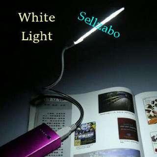 Portable USB Led Reading Light Strip Lamps Sellzabo White Colour Bulb 21 Led Light Beads