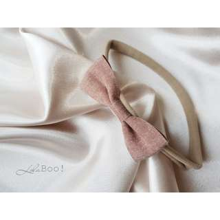 Baby Bow Headband - Brown