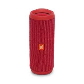JBL Flip 4 便攜式防水藍牙揚聲器 - 紅色, 藍色