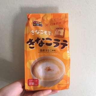 [購自日本]黃豆粉風味latte