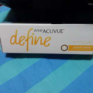 Acuvue Define Coloured Contact Lens