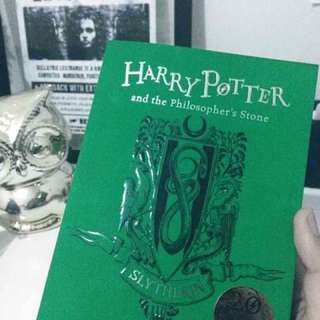 Slytherine book HARRY POTTER AND THE PHILOSOPHER's STONE