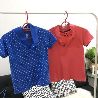 Collar shirt rm5 each Cottonon uniqlo h&m cotton on