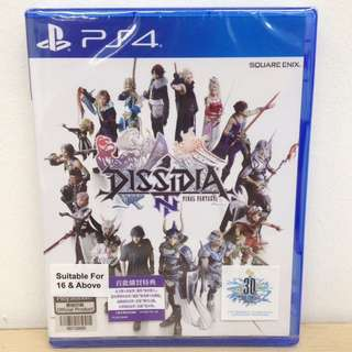 (Brand New) Dissidia: Final Fantasy NT / R3 (Chinese)