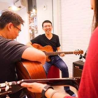 Guitar lessons (acoustic/electric)