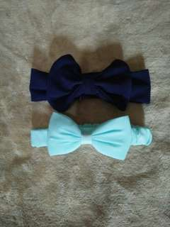 Big bow turbans