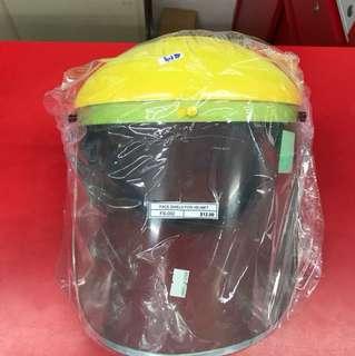 Face shield for helmet
