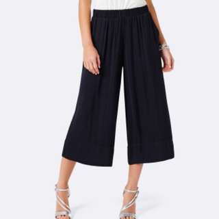 Evernew black culottes pants