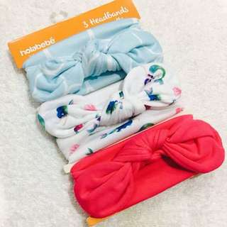 Babies Headband 3 in 1