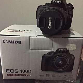 Canon EOS DSLR 100D
