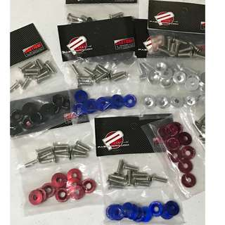 PJDM Fender Bolts & washers