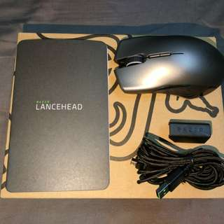 Razer Lancehead Wireless Mouse 2018