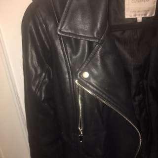 Zara TRF leather jacket