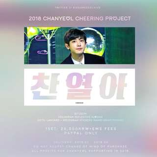 Exo Chanyeol slogan 61degreecelcius