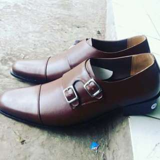 Sepatu fantovel pria size 38-47. Hand made dari kukit sapi asli