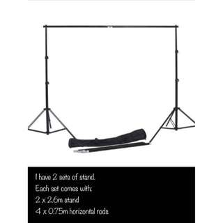 *RENT* Backdrop Stand