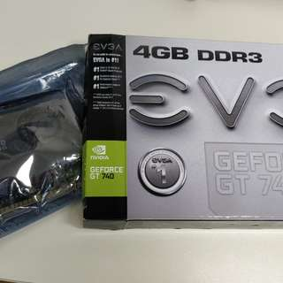 EVGA GEFORCE GT740 SuperClocked 4GB