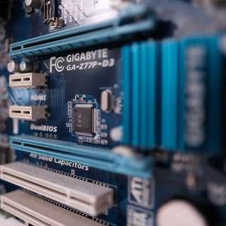 Gigabyte z77 Motherboard Lga 1155