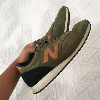 Military green new balances