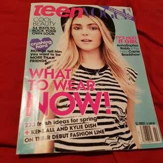 AnnaSophia Robb Teen Vogue Magazine