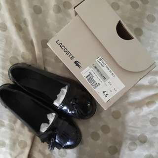 Lacoste Betony Dark Blue  Leather Shoes