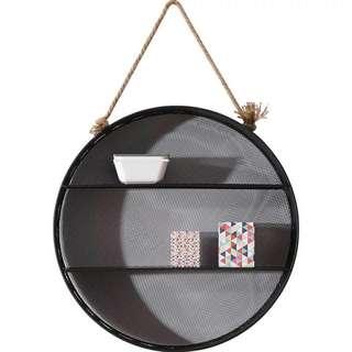 Round hanging shelf