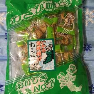 日本芥末魷魚