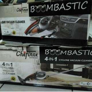 Vacum Cleaner Boombastic Chefinox Lejel, Bonus Vacum buat Mobil !!