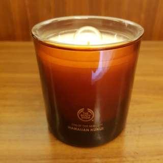 Body shop hawaiian kukui candle