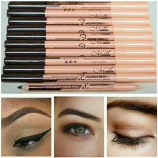 Eyeliner!😊 bought from lazada. 50pesos each because of its very good quality😊 worthy to try😍 (see photos for the details) perfect for kilay goals!😍
