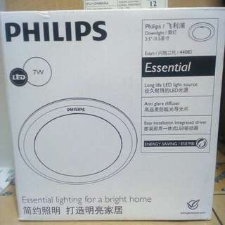 Downlight Philips,44082 7watt 65k
