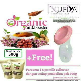 Milk booster organic (inc pos)