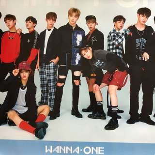 WANNA ONE POSTER ROLLED SKY VERSION 1x1=1 To Be One