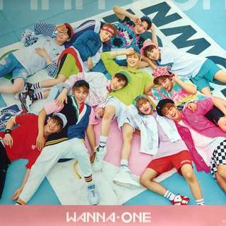 WANNA ONE POSTER ROLLED Pink VERSION 1x1=1 To Be One