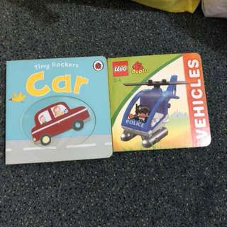 Baby books hard cover at $2 each