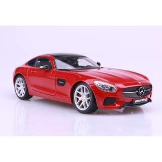 賓士 Mercedes-Benz AMG GT 紅色 FF5538131 1:18 合金車 模型 預購 阿米格Amigo