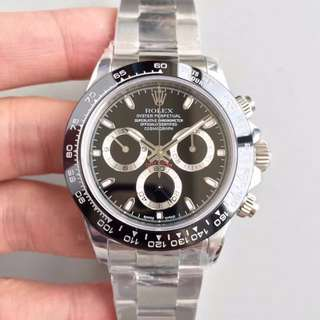 腕錶吧 見面睇貨 Noob V7版 Rolex Daytona 116500LN 黑面 116500 計時