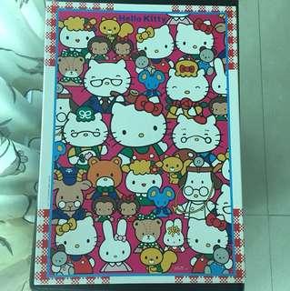 Hello Kitty 1000塊砌圖