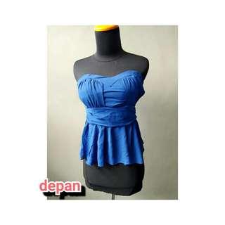Dress mini blue