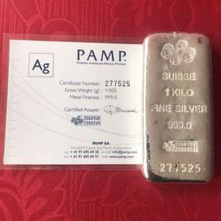 silver by pamp (999)