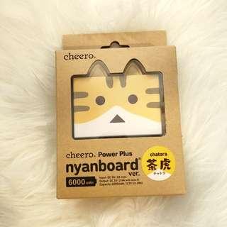 🚚 日本原裝 貓咪 卡通 造型 行動充