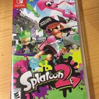 Switch splatoon 2 歐版 (hold)