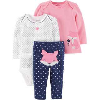 CARTER's Child of Mine Bodysuit, Long Sleeve & Pants set