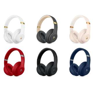 全新原刲 行貨 Beats Studio 3 wireless Bluetooth (Brand New 1 year Apple warranty) 無線 藍牙 耳機